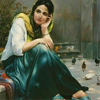 نمایشگاه بین المللی نقاشی در همدان
