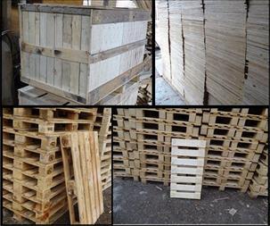پالت سازی تقوی - پالت و باکس پالت چوبی - 1
