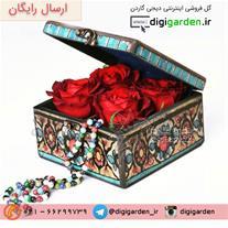گل فروشی آنلاین دیجی گاردن - فقط جعبه گل های لوکس