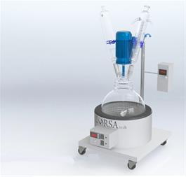 پایلوت راکتور شیمیایی مجهز به منتل - 1