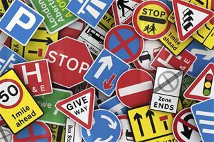 تابلو ترافیکی