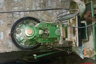 دستگاه پرس ضربه ای 7 و هیدرولیک350 تن