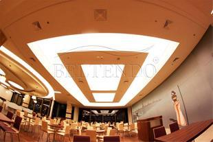 سقف کاذب کشسان - نصب سقف کاذب کششی