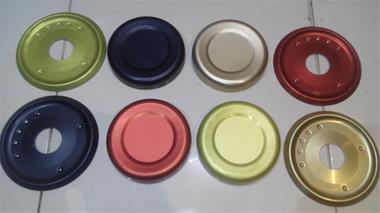 آندایزینگ سخت و رنگی آلومینیوم - 1