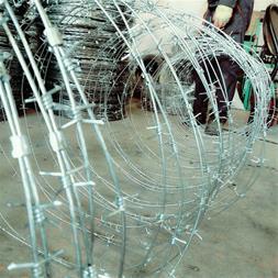 ساخت سیم خاردار حلقوی -  نصب سیم خاردار حلقوی - 1