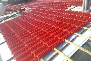 ورق پوشش کار سقف شیب دار