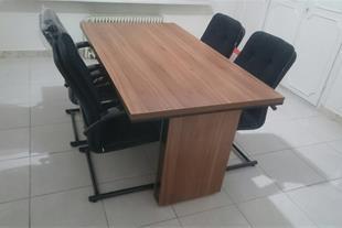 میز کنفرانس با 6 صندلی