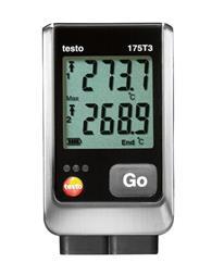 دیتالاگر دمای دوکاناله تستو مدل testo 175 T3 - 1
