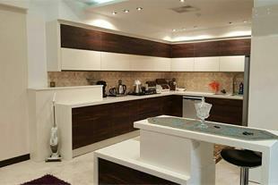 طراحی و اجرای کابینت آشپزخانه لوکس و ساده