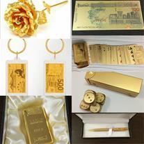 فروش انواع محصولات روکش طلا اصل