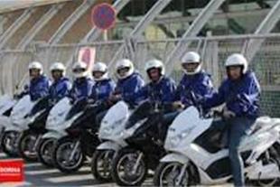 پیک موتوری با مجوز رسمی