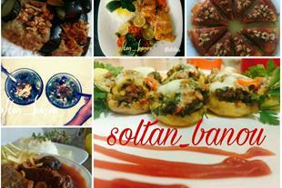 غذای خانگی سلطان بانو ، قبول سفارش غذا و پیش غذا