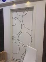 تولید و اجرا انواع درب چوبی اتاقی و ورودی - 1