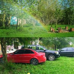 نمایی از حیاط و فضای سبز باغ