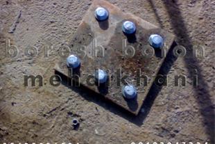 نصب پلیت با رول بولت مکانیکی