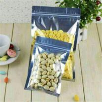 پاکت متالایز زیپ کیپ دار مواد غذایی