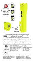 فروش چراغ قوه ضد انفجار نایت استیک مدل: XPP 5422GM