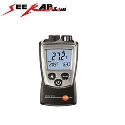 ترمومتر لیزری و محیطی با کیفیت تستو مدل TESTO 810 - 1