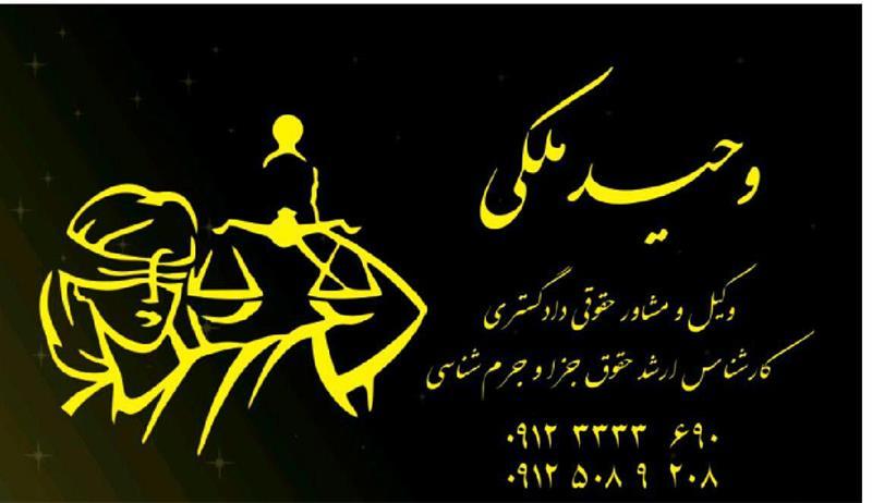 موسسه حقوقی و داوری الهه عدالت ( وکیل -وحید ملکی) - 5