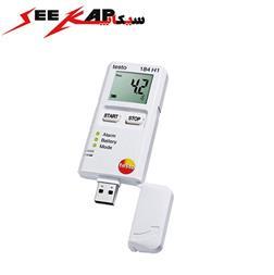 دیتالاگر دما و رطوبت با USB تستو مدل TESTO 184 H1 - 1