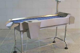 میزهای بازرسی و تهیه کردن سبزیجات