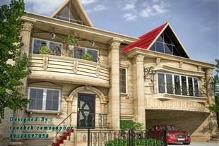 طراحی نمای ساختمان ، طراحی داخلی با تری دی مکس