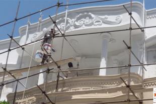 اجرای کنیتکس و رولکس و نقاشی ساختمان تهران تبریز