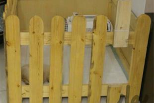لانه چوبی مناسب گربه یا سگ - 1