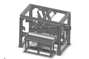 طراحی و مدلسازی سه بعدی تجهیزات صنعتی