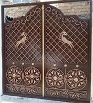 طراحی و ساخت انواع درب و پنجره آهنی . دوجداره