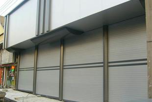 تولید و نصب درب اتوماتیک شیشه ای و زیرسقفی - 1