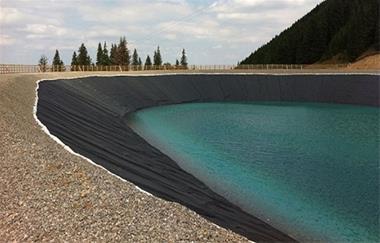 ژئوممبران آب بند کننده استخر - 1