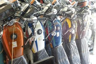 فروش موتور سیکلت نقد و اقساط بلند مدت