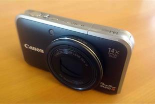 دوربین 14 مگاپیکسل CANON مدل SX210 IS (در حد نو)