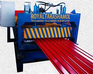 ساخت و تولید دستگاه رول فرمینگ نما - 1