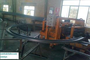ساخت و طراحی دستگاه نورد سرد تیرآهن از سایز12_30