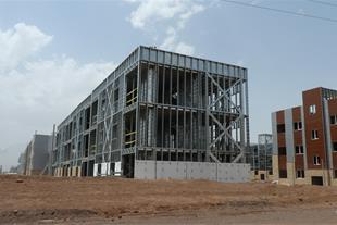 ساخت ساختمانهای مدرن و سبک فولادی LSF