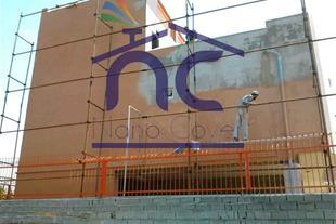 عایق و رنگ نانو روی نمای ساختمان