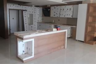 اجرا و طراحی داخلی کابینت ، سقف و کف
