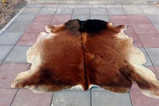 فروش پوست دباغی تزئینی ، پوست گاوی گوسفندی - 1