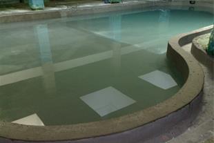 ایزولاسیون استخر در طبقات ، آب بندی استخر