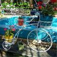 فروش جاگلدانی با طرح دوچرخه