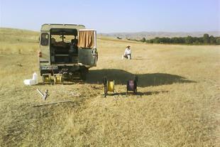 آبیابی و تعیین محل مناسب حفر چاه