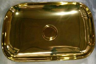 فروشنده و پخش کننده عمده کاسه روشویی طلایی GOLD