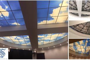 دکوراسیون داخلی و سقف کشسان