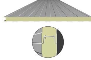 ساندویچ پانل سقف و دیوار سوله - 1