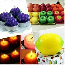 فروش شمع های میوه ای 4عددی