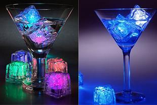 یخ LED هفت رنگ 8 عددی