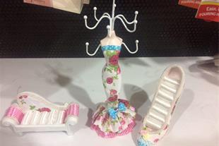 ست نگهدارنده جواهرات عروس