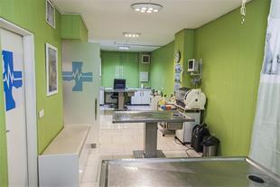 اتاق معاینه بیمارستان دامپزشکی مرکزی زعفرانیه